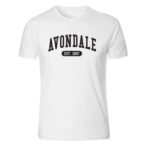 Avondale White Tee