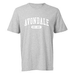 Avondale Grey Marl Tee