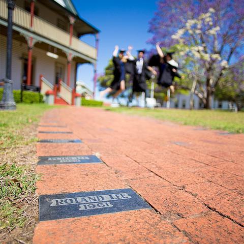 Alumni Heritage Walk Paver